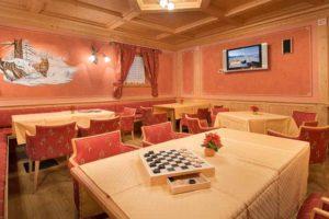 hotel centros livigno sala tv sala giochi relax