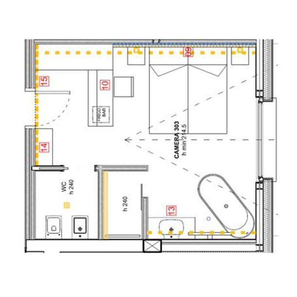 hotel centros livigno camera doppia panoramica